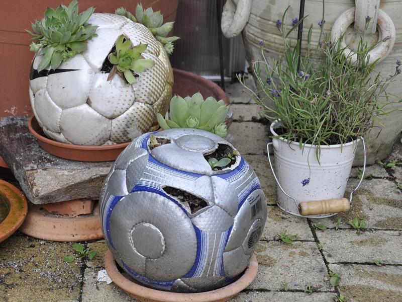 Garten vrschönern mit kreativen DIY-Projekten