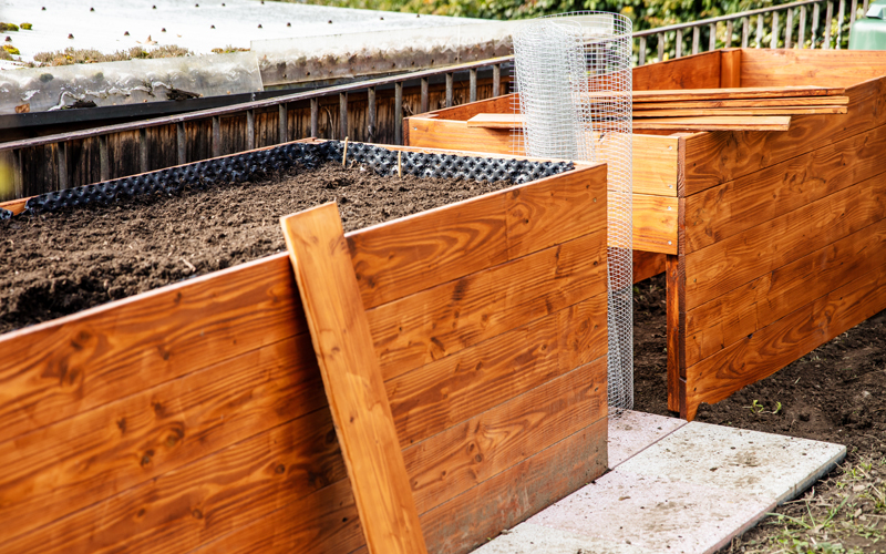 Header Hocbeet bauen aus Holz, Stein oder Metall