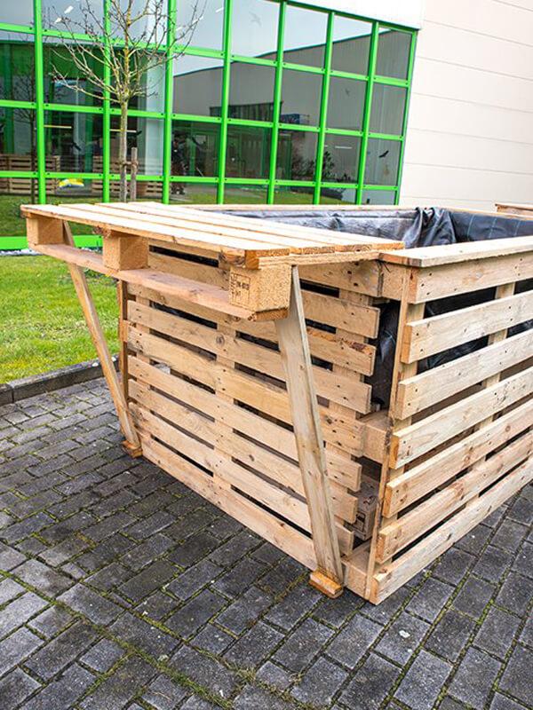 Tisch/Ablage für dein Hochbeet bauen