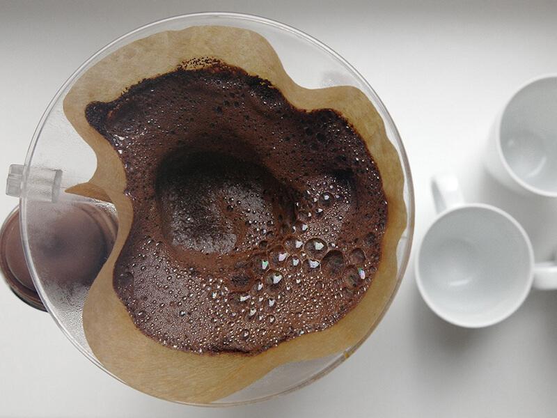 Düngen mit Kaffeesatz